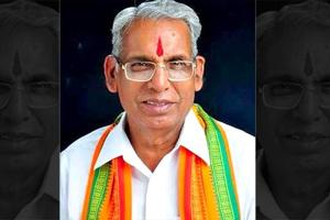 Chhattisgarh BJP leader and MP Banshilal Mahto.