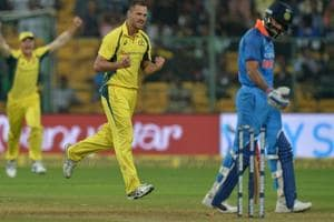 Is in-form Virat Kohli becoming Aussie pacer Nathan Coulter-Nile's...