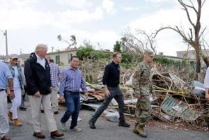 Photos | Hurricane hit Puerto Rico without power for weeks: Trump visits for survey