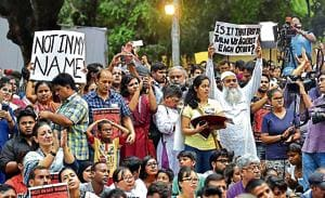 The National Green Tribunal on Thursday ordered the Delhi government, NDMC and the Delhi Police to stop all protests, public gatherings and use of loudspeakers at Jantar Mantar.