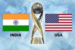India lost toUSA in their Group A opener of the FIFA U-17 World Cup in New Delhi today. This was India's first ever match at this stage. Get highlights of India vs USA here.