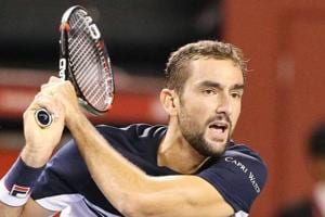 Marin Cilic thrashed Ryan Harrison 6-2, 6-0 to enter the Japan Open tennis semi-finals.