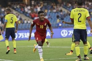 Sadiq Ibrahim scored a goal for Ghana as they started their FIFAU-17 World Cup campaign on a bright note with a 1-0 win over Colombia.