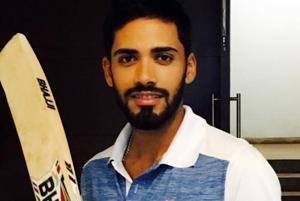 Prashant Chopra scored 338 for Himachal Pradesh against Punjab in a Ranji Trophy match on Saturday.