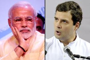 One chart that shows how Rahul Gandhi is challenging Narendra Modi on...