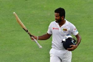 Dimuth Karunaratne's career-best 196 gave Sri Lanka total control of the Pink Ball Test against Pakistan in Dubai.