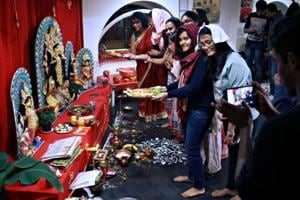 For Bengali youths, especially those living far away from home to pursue higher studies in Hungary, the puja offered a major opportunity to return to their roots.