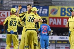 Jason Behrendorff was the star for Australia as he picked up 4/21 to bowl India out for 118 and snap their seven-game losing streak against India.