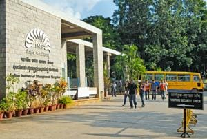 A file picture of IIM Bangalore. HRD Minister Prakash Javadekar recently announced that the Centre is mulling bringing in IITs and IIMs to help with accreditation of the higher education institutes in the country.