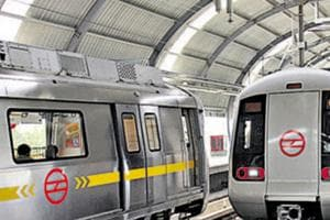 A file photo of Delhi Metro. From Tuesday, fares were hiked by the DMRC, which says it needs the money for the upkeep and maintenance of trains and stations.