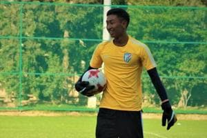 Dheeraj Singh has been the standout performer for India at the FIFA U-17 World Cup.