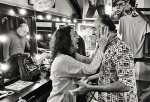 Rajit Kapur, Shernaz Patel and Rahul da Cunha , stalwarts behind the 25-year-old English language theatre group Rage, make an unlikely combination  (Make-up and hair by Rashmi Shastri)