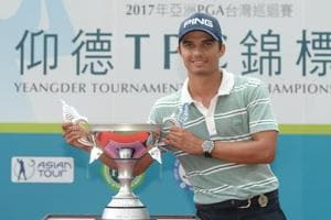 Ajeetesh Sandhu continued his consistent run in the Asian Tour circuit as he clinched the Japanese Challenger event, one week after he had won the Yeangder Tournament Players Championship.