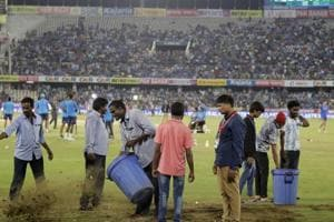 India vs Australia, 3rd T20 Hyderabad, highlights: Match rained off, series ends 1-1