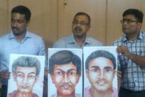 Police said the sketches were made based on all the eyewitness accounts.