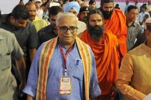 RSS ideologue Suresh Bhaiyyaji Joshi.