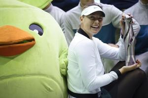 "Maria Sharapova thrilled ""everything fell into place"" in first win..."