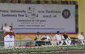 Speaking at a PU function on Saturday, PM  Narender Modi ihad asked it to compete for top varsity slot.