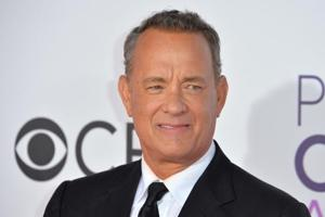 Tom Hanks at the 2017 People's Choice Awards at The Microsoft Theatre in Los Angeles.