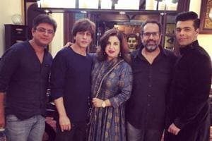 Shah Rukh Khan hosts Diwali party for 'old friends and new': Farah...