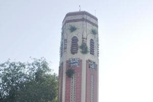Renovation of Doon's Clock Tower begins, no word on rooting out 'green...