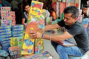 Though famous for its crackers at wholesale rates, the Kurali market has never been well regulated.