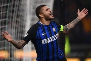 Mauro Icardi's last-gasp penalty gives Inter Milan 3-2 win over AC...