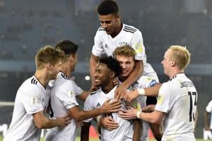 FIFA U-17 World Cup: Dominant Germany slam four past Colombia to make...