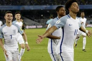 Jadon Sancho out of FIFA U-17 World Cup but England not downbeat...