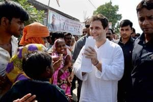 Gujarat Congress passes resolution to elevate Rahul Gandhi as Congress...