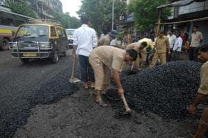 Mumbai civic body starts repairing 99 of 1,200 'bad' roads