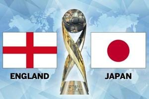 FIFA U-17 World Cup, England vs Japan, Live football score, Round of...