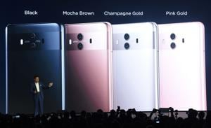 Huawei launches Mate 10, a new AI-powered bezel-less phone