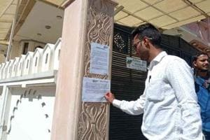 Rajasthan BJP leader's house sealed over Rs 3.5 crore unpaid loan