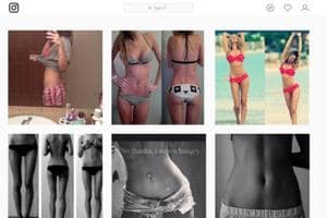 'Bonespiration', 'thinspiration': Scary trends on Instagram that...