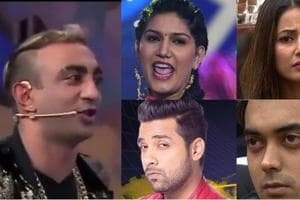 Bigg Boss 11:Sapna, Hina or Akash, who should be kicked out of the...