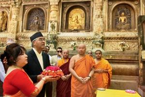 Nepalese Prime Minister Sher Bahadur Deuba met Maoist chairman Pushpa Kamal Dahal Prachanda and informed him that he is going to remove the duties of the Maoist ministers if they do not put in their papers.