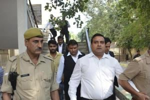 BJP leader's murder: Ex-MLA Amarpal Sharma surrenders before court