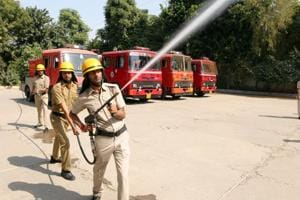 Diwali is another reason for Gurgaon's firefighters to serve the...