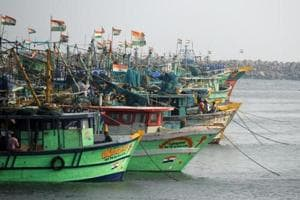 On October 12, five fishermen from here were arrested by the Sri Lankan navy for allegedly fishing off Neduntheevu.