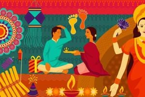 Bhai Dooj like Raksha Bandhan celebrates the love of a sister and brother and is one of the most celebrated festivals of India.