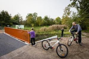 Now, you can cycle down the world's first 3D-printed bridge in the...