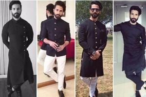 Photos: Shahid Kapoor's five most stylish looks to copy on Diwali