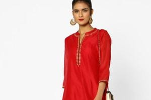 Red is the new black this Diwali