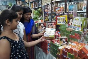 Demonetisation, GST-themed firecrackers a big hit this Diwali in UP's...