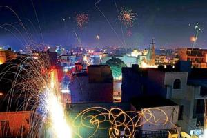 The bursting of firecrackers also leads to smog which is not only injurious to health but also obstructs the vision and causes accidents.