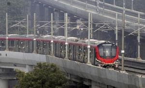The Metro train had remained stranded at Mawaiyya crossing for close to two hours on September 6, the day it was inaugurated.