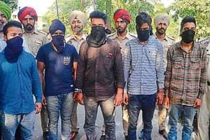 Five men arrested in two cases by police in Amritsar on Tuesday.