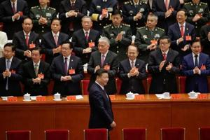 Future of China's Communist Party and economy being decided at meeting...