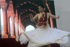 Actress and kathak exponent Sharvari Jamenis performs